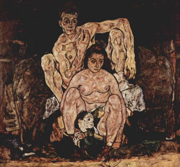 egon-schiele-the-family